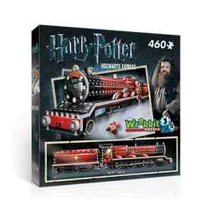 WREBBIT 3D JIGSAW PUZZLE HARRY POTTER HOGWARTS EXPRESS TRAIN 460 PC  #W3D-1009