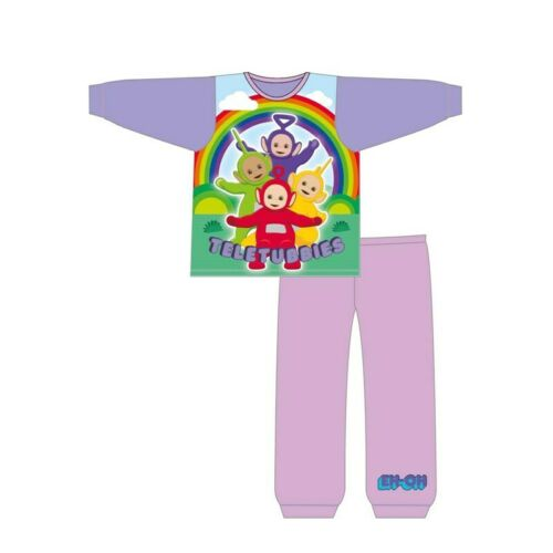 3-4 NEW GIRLS TELETUBBIES PYJAMAS SET SIZE 18-24 4-5 YEARS 2-3