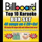 Billboard Top 10 Karaoke, Vol. 1 by Karaoke (CD, Sep-2005, 4 Discs, Sybersound)