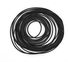 30 Mixed Random Sizes & Width Rubber Drive Belt for Cassette Tape Deck Wholesale