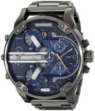 Diesel Mr Daddy 2.0 Only The Brave Chronograph Time 4 Men Watch DZ7331 New Orig