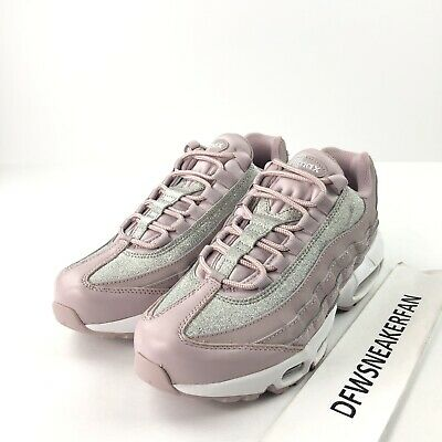 Nike Air Max 95 Women's Size 8 Rose Glitter Sparkle Shoes AT0068 600 NEW | eBay