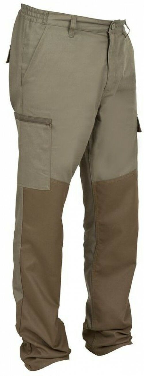 STEPPE LINED HUNTING  SHOOTING  FISHING TROUSERS (Comfortable, Durable) - Size M