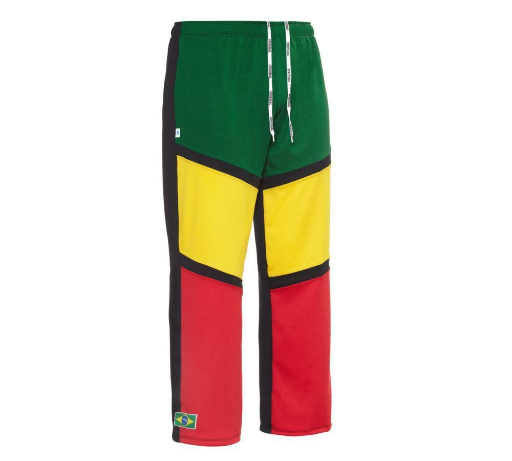Unisex Reggae Brazil Capoeira Abada Martial Arts Elastic Trousers Pants 6 Sizes