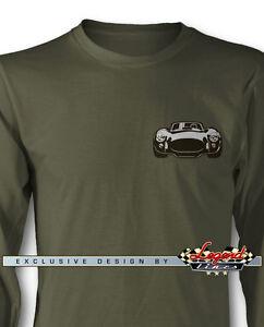 XXLarge Small Shelby AC Cobra Roadster 1965 Mens T-Shirt Grey Sizes