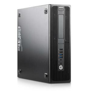 HP z240 SFF Office workstation BAREBONE MAX. Intel Core i7-7700 RAM 64gb SSD HDD