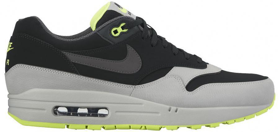 Nike Air Max 1 LTR 654466-007 Herren Mens Sneakers Shoes Schuhe Neu New