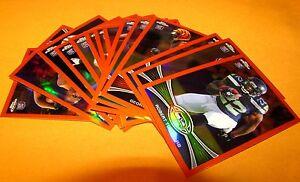 2012-Chrome-Orange-Refractors-14-Pc-Rookie-Lot-Turbin-Hill-Broyles-Wilson