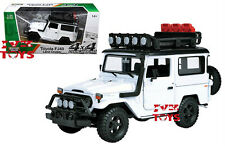 Motor Max PLATINUM 1/24 Scale Toyota FJ40 Land Cruiser White Diecast Model 79137