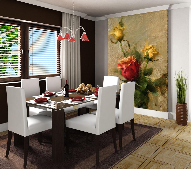 3D Gelb Rote Rosa Blaume 74 Tapete Wandgemälde Tapete Tapeten Bild Familie DE | Qualität und Verbraucher an erster Stelle  | Neueste Technologie  | Bekannt für seine schöne Qualität