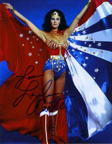 REPRINT - LYNDA CARTER 9 Wonder Woman autographed signed photo