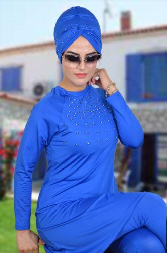 A-1037 Hasema Burkini Bademode Hijab,Badeanzug Swimwear Tesettür Mayo