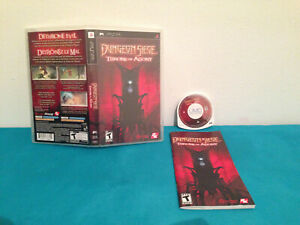 Dungeon-Siege-Throne-of-Agony-Sony-PSP-2006-Case-game-amp-english-manual-CAN