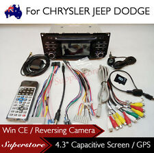 4.3 inch Car DVD GPS Navigation Stereo Player Head Unit For JEEP