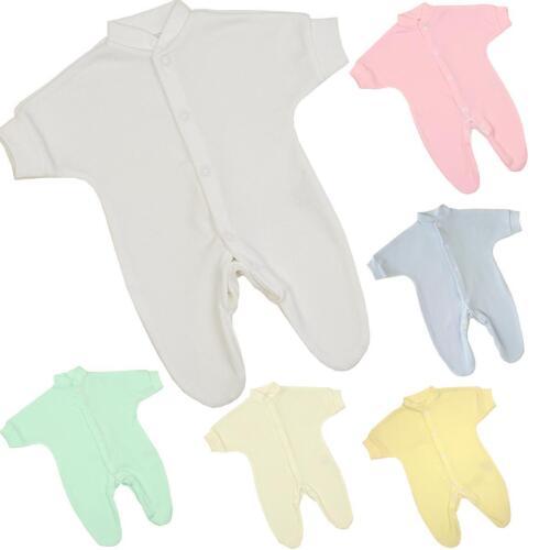 "Babyprem ropa de bebé prematuro Tiny Baby pelele peso hasta 1LB//0.45kg 9/"""