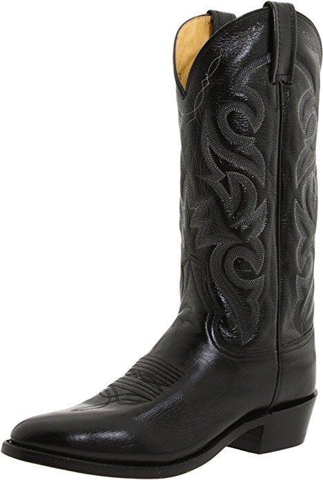 botas De Vaquero DAN botas para hombre Negro Mignon POST en Surtida tamaños, artículo DP2110