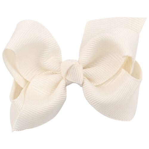Girls Bow Tie Colors Hairpin Headwear Bowknot Hair Clip Barrette Accessories