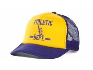 LSU Tigers Top of The World NCAA Athletic Dept. Vault Foam Trucker Cap Hat