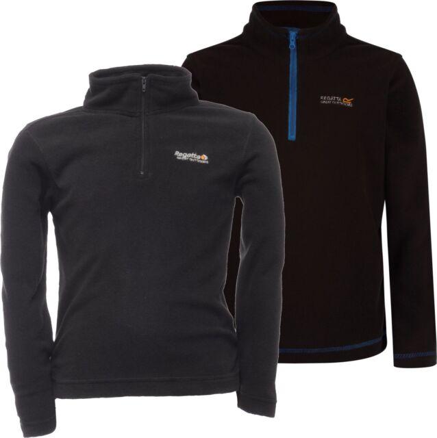 6bb5df14e Regatta Kids Hotshot Fleece Black Size 5-6