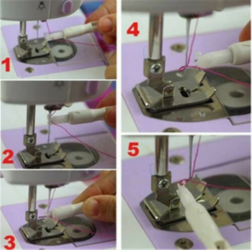 DIY Needle Threader Insertion Applicator Handle Thread for Sewing Tool Machine N