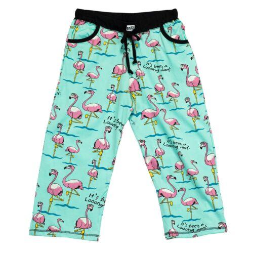 Lazyone Femme Flamingo beau jour Capri PJ Pantalon
