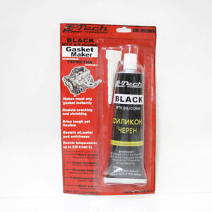 g tech rtv silicone joint instantan fabricant noir haute temp rature enduit 85g ebay. Black Bedroom Furniture Sets. Home Design Ideas