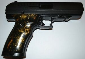 Details about Hi Point JCP-40 JHP-45 pistol grips black with gold speckled  plastic