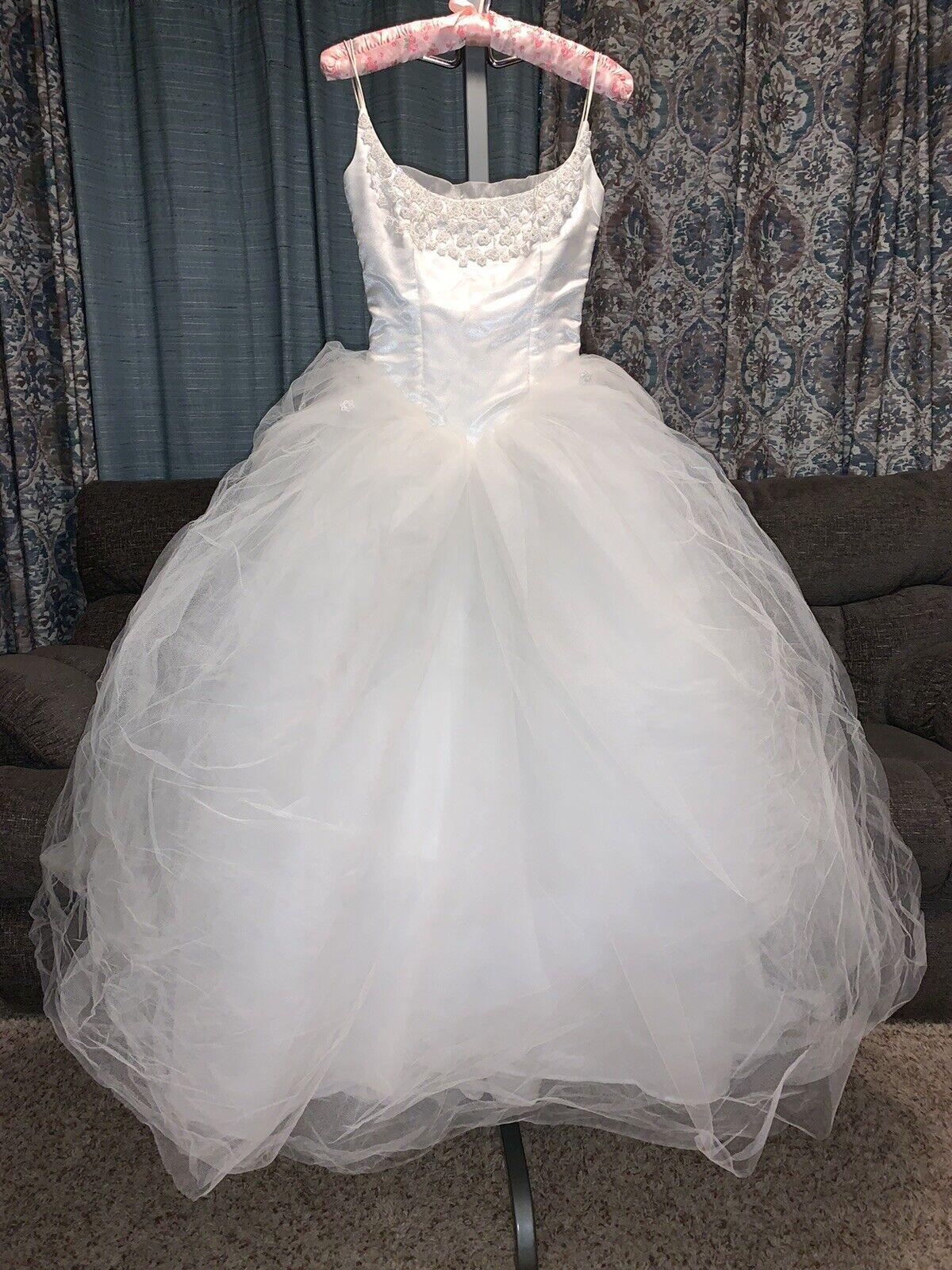 Ballerina style wedding, sweet 16, party dress many options Size 0 XS