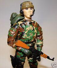 1:18 Unimax BBI Elite Force Mercenary Soldier  Figure AK47 Rifle Custom