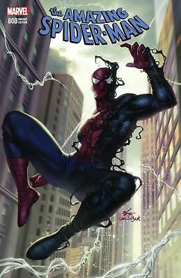 Amazing Spider-Man #800 In-Hyuk Lee Variant Black Costume Venom VF+//NM+