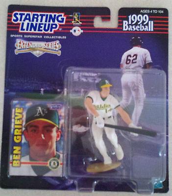 Oakland A/'s Starting Lineup 1999 BEN GRIEVE SLU- Loose Sports Figurine