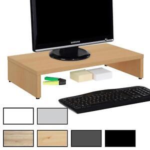 Monitorständer Schreibtischaufsatz Monitorerhöhung Bildschirm