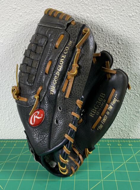 Rawlings Fastback RBG36B RHT Softball Baseball 12.5 inch Gold Glove Co Leather H