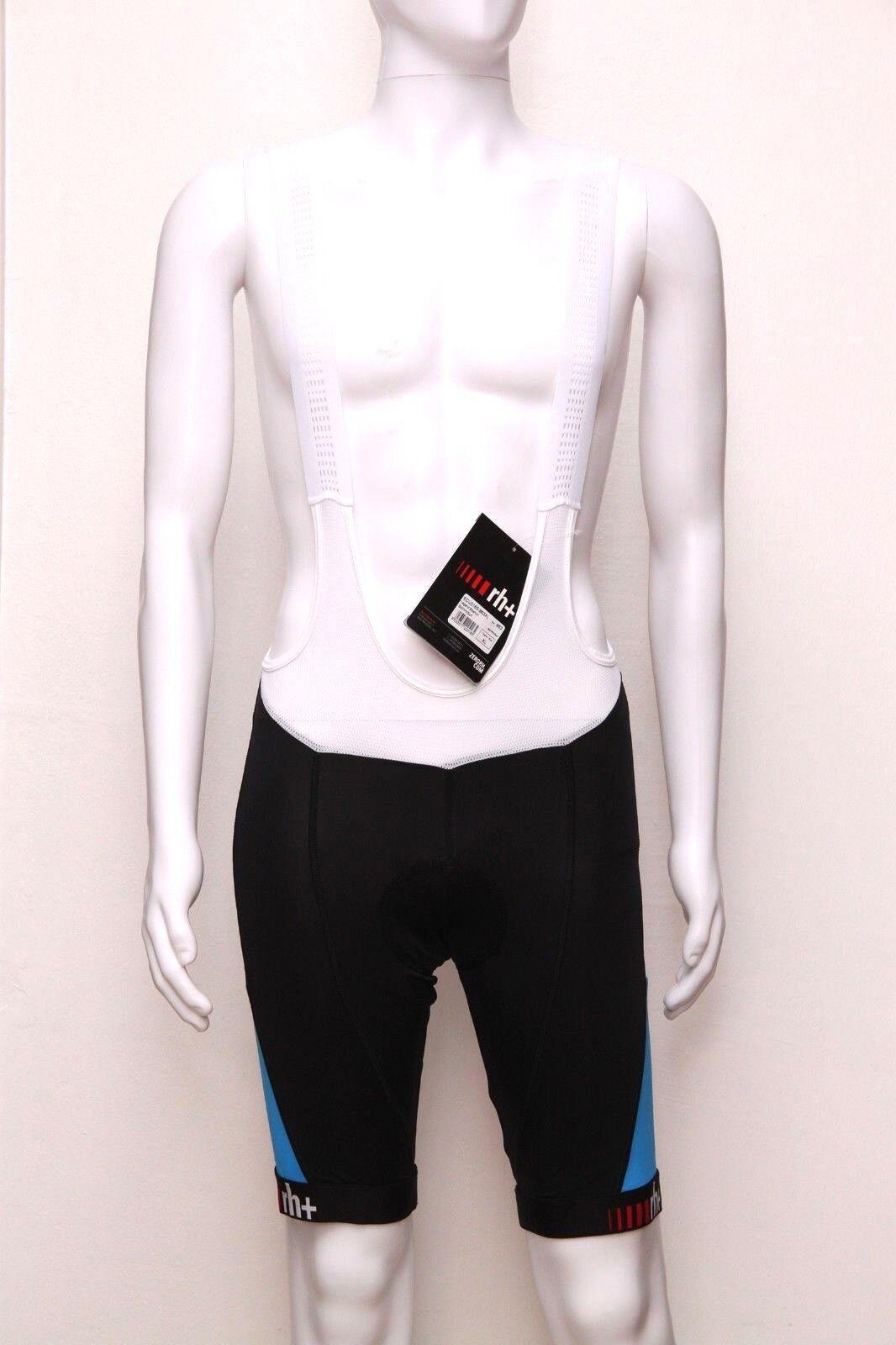 Zero Rh + señores bicicleta portador pantalones Legend bibshorts, negro blanco azul surf, XXL