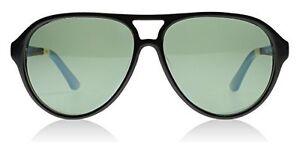 db5dc9a788a6 NWT Toms 001-03 Black Marco Aviator Sunglasses Polarised Lens ...