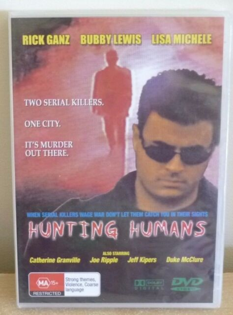 DVD : HUNTING HUMANS  - MA 15+ - BRAND NEW STILL IN PLASTIC WRAP