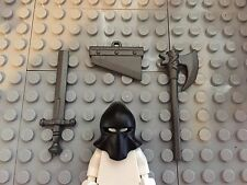Lego Custom Executioner Minifigure Accessory Pack Axe and Guillotine