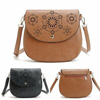 Womens Leather Handbag Shoulder Bags Tote Purse Messenger Satchel Cross Body Bag
