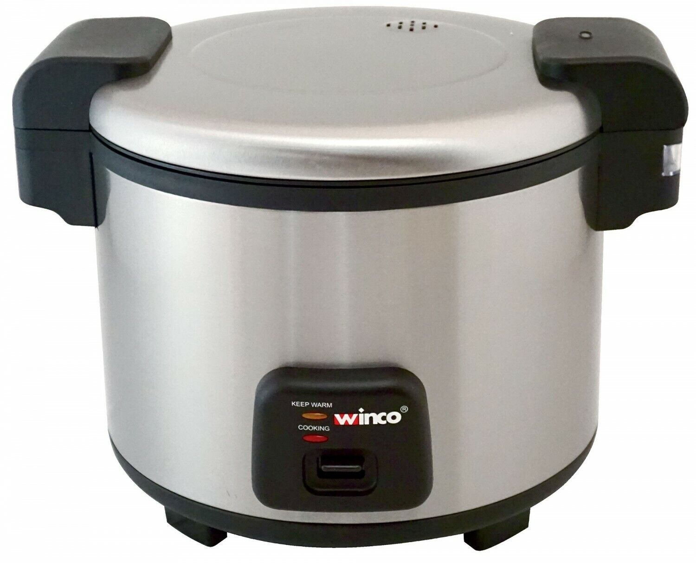 Winco RC-S300 Advanced électrique Cuiseur à riz chauffe-avec couvercle à charnière