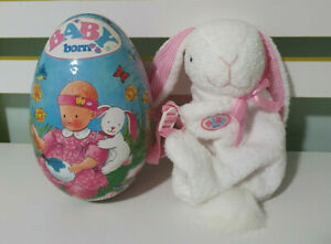 Baby Born - Easter Egg - Easter Egg with outfit inside- RABBIT BACKPACK FOR DOLL