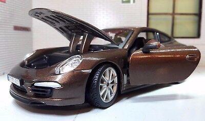 G LGB 1:24 Scale Porsche 911 Carrera S Detailed Rastar Diecast Model Car 56200