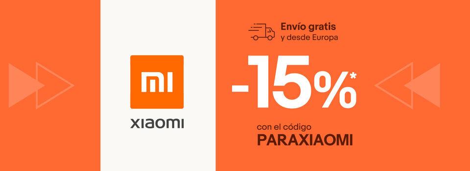 Canjear cupón - Ahorra hasta 50€ en Xiaomi