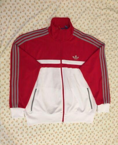 M63649 Blanco Adidas con Chaqueta deportivo Tamaño Gris Rojo top icon Originals Xl Adi ww6xrpCqH7
