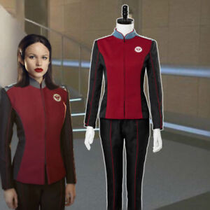 Details about The Orville Lt  Alara Kitan Security officer uniforms cosplay  costume custom set