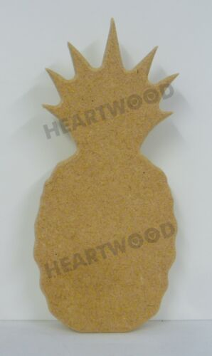 //Tropical 165mm x 75mm x 18mm thick Pineapple shape in MDF