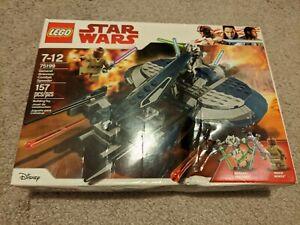 Lego-75199-General-Grievous-039-Combat-Speeder-New-sealed-damaged-box