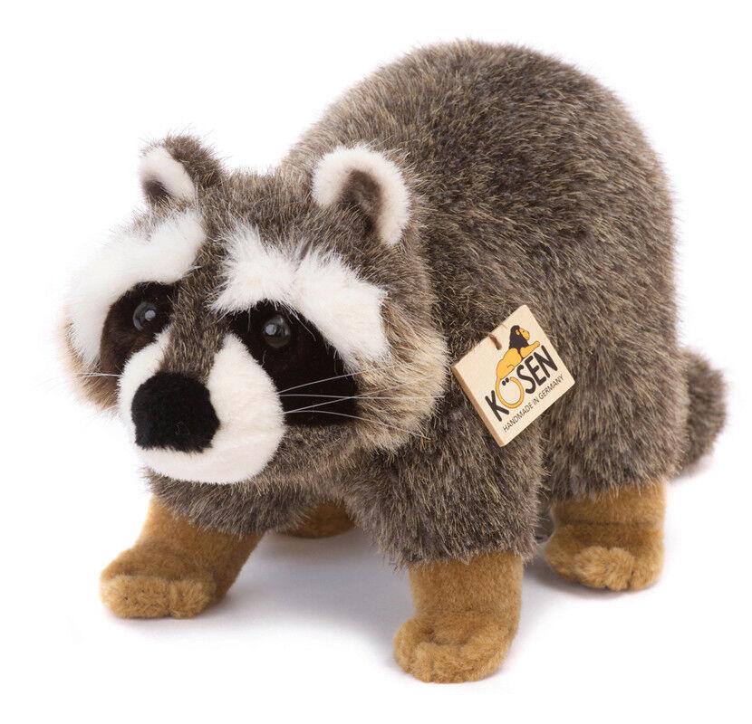 Raccoon collectable plush soft toy animal - Kosen   Kösen - 2880
