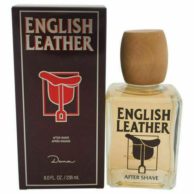 ENGLISH LEATHER MEN by DANA HUGE 8/8.0 oz  After Shave Lotio