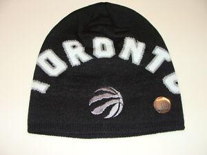 Toronto Raptors Adidas Basketball Cap Hat Beanie Toque Wordmark Knit NBA New NWT