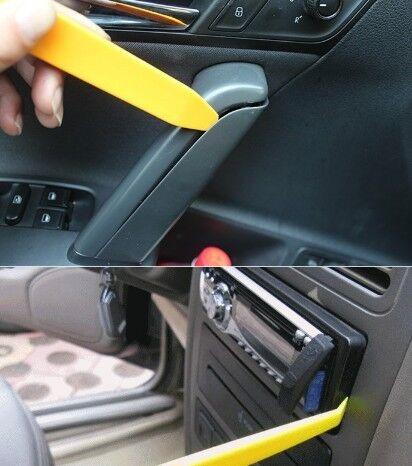 Kit de 4 herramientas desmontar salpicadero radio coche panel frontal altavoz